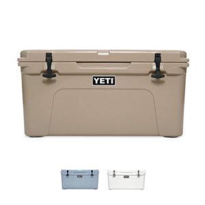 YETI Tundra 65 Hard Cooler NEW PRICE White/Tan/Blue YETI Official