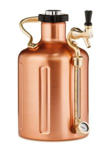 uKeg 128 Pressurized Growler for Craft Beer