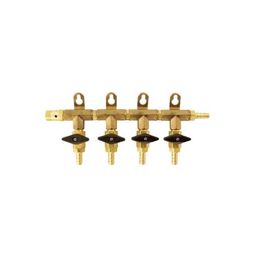 Gas Manifold - 6 Way