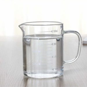 Borosilicate Glass Measuring Cup with Spout 350ml