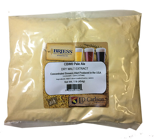 Briess Pale Dry Malt Extract 1 Pound