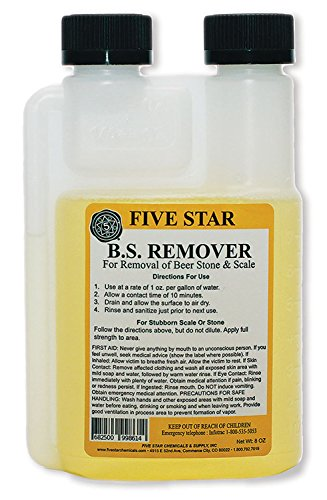 Five Star Beer Stone Remover, 8 oz.