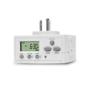 TOPGREENER TGT02-W Programmable Plug-in Timer