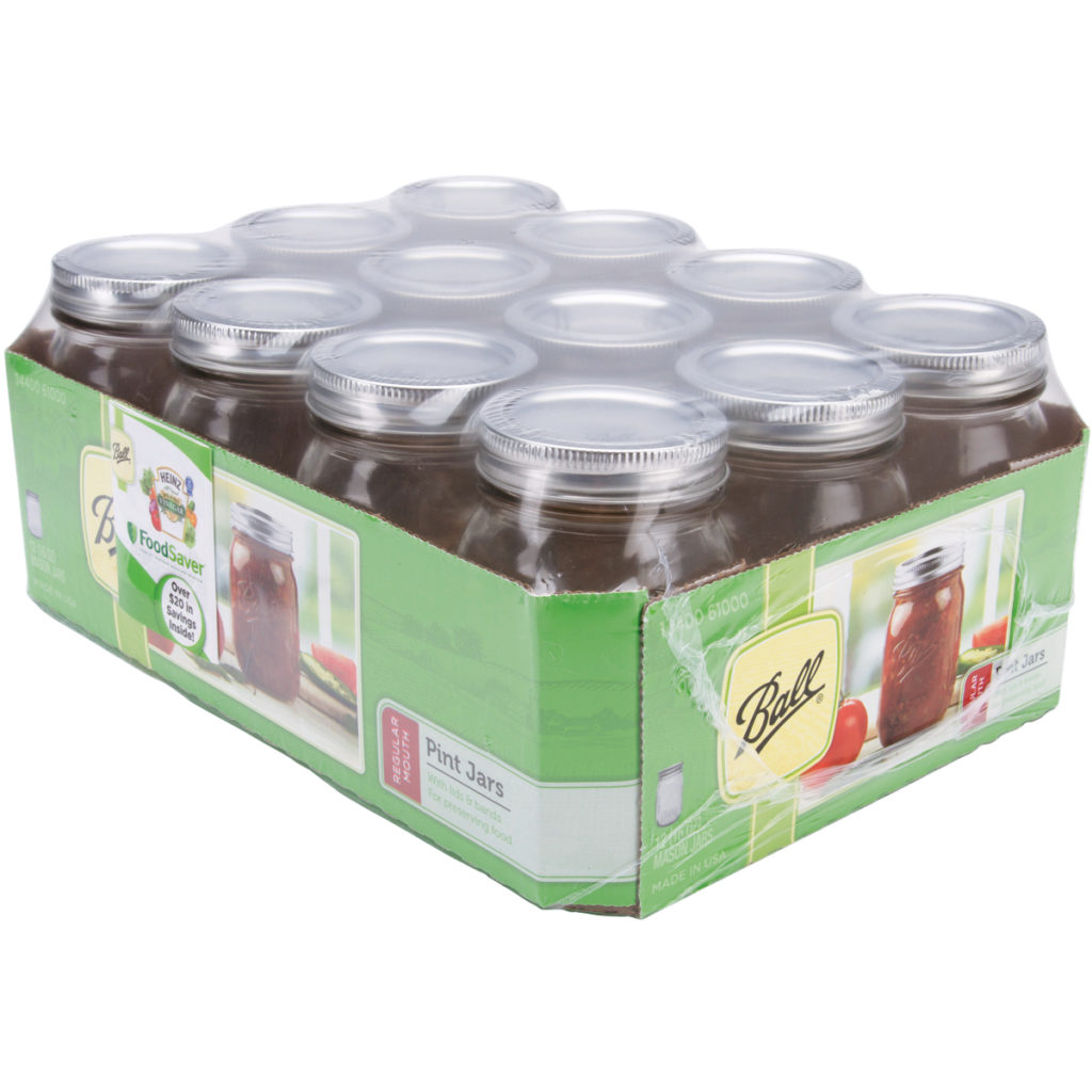 Ball Regular Mouth Canning Jar, 12 Count