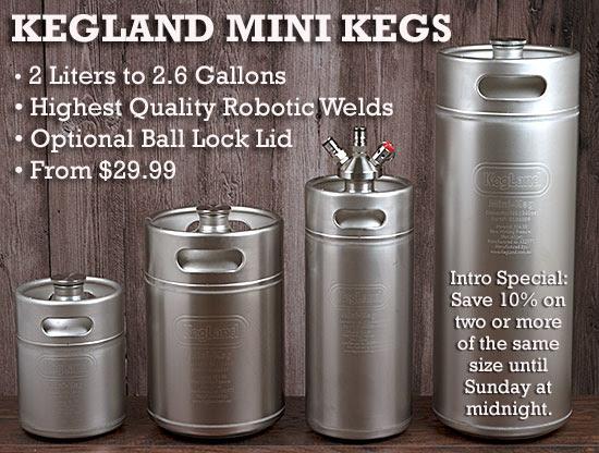 kegland mini kegs