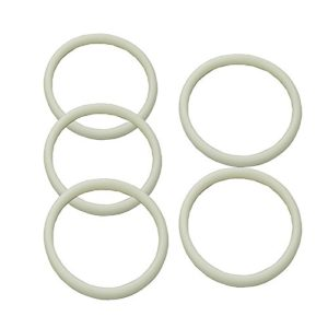 5PCS/LOT Brand new Silicone Cornelius Type Keg Seal Replacement Kit o-ring rubber