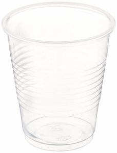 Blue Sky 100 Count Plastic Cups, 5 oz, Clear
