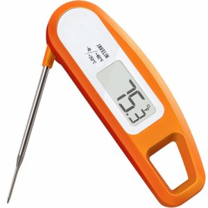 Lavatools PT12 Javelin Digital Instant Read Meat Thermometer (Orange)