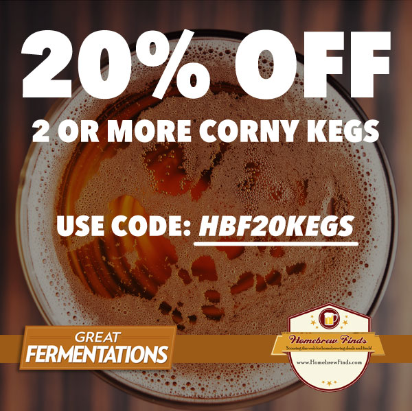 homebrewfinds keg sale