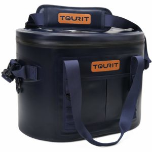 TOURIT 30 Cans Leak-Proof Soft Pack Cooler Waterproof Insulated Soft Sided Cooler Bag for Hiking, Camping, Sports, Picnics, Sea Fishing, Road Beach Trip