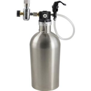 Ultimate Draft Growler with CO2 Cartridges