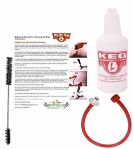 Homebrew Line Cleaning Kit fits Ball Lock Disconnects ONLY, by Kegconnection
