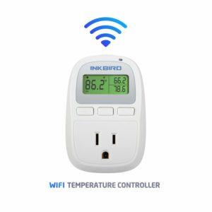 Inkbird C929 Smart Digital WiFi Temperature Controller 120VAC 1200W, Heater/Cooler Thermostat, Homebrewing, Reptiles, Terrarium, Greenhouse, Heat Mat