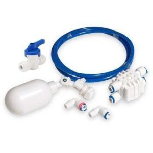 """Malida 1/4"""" Tube Float Valve Kit for RO Water Reverse Osmosis System water filter Push to Connect Pipe Hose Tube Fittings"""