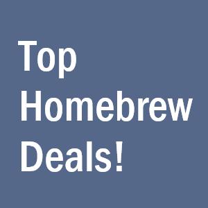 Top Homebrewing Deals Homebrew Finds