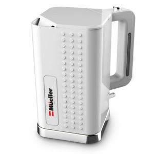 Mueller Austria Electric Kettle Water Heater ExacTemp Modern Powerful 1500W Rapid Technology, Tea/Coffee Pot-360 Degree Cordless Swivel Base, BPA-Free, and Boil-Dry Protection, Auto Shut-Off
