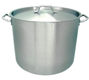 Update International (SPS-80) 80 Qt Induction Ready Stainless Steel Stock Pot w/Cover