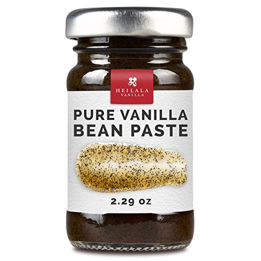 Heilala Pure Vanilla Bean Paste (2.29 fl oz) - Organically Grown, Contains Whole Vanilla Bean Seeds