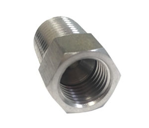 1/4'' MPT x 1/4''' FFL (Stainless Steel)
