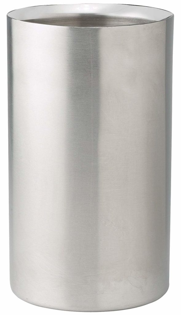 Winco Double Wall Wine Cooler, Stainless Steel