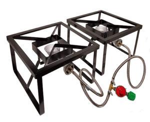 2 Burner System with 16'' Burner Stands (220,000 BTU)
