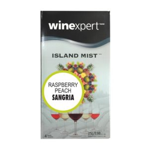 Winexpert Island Mist Raspberry Peach Sangria Wine Recipe Kit WK451