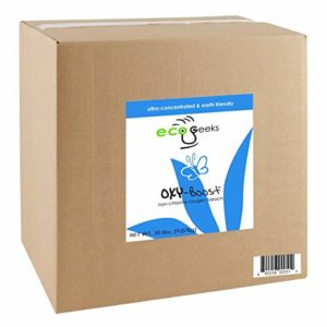 ecoGeeks OXY-BOOST Oxygen Bleach 20LB Bulk Packaged by ecoGeeks