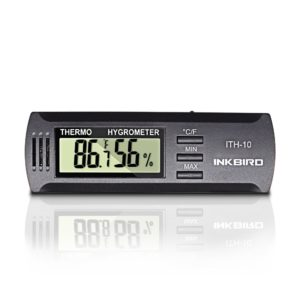 Inkbird ITH-10 Digital Thermometer and Hygrometer Temperature Humidity Monitor