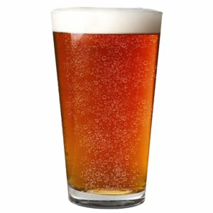 Nucleated 16oz Pint Glass - More Head, More Flavor, Better Beer!