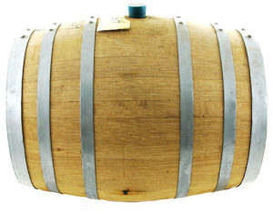 Fresh 5 Gallon American Oak Barrel
