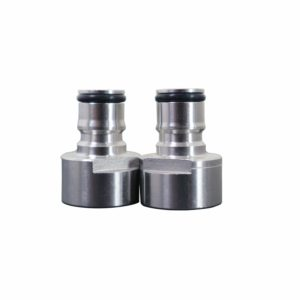 Stainless Steel Keg Coupler Adapter FPT 5/8 Thread Ball Lock Quick Disconnect Conversion Kit Gas & Liquid Posts For Home Brewing