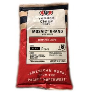 Mosaic Hops Pellet 1 lb