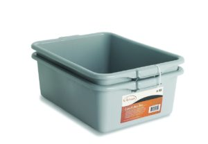NUCU Artisan Utility Bus Box and Storage Bin with Handles, 2-Pack