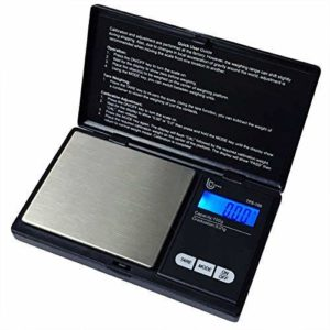 Tesso Digital Mini Pocket Scale High Accuracy Jewelry/Food/Medicine Scale, Electronic Gram Scale with Slim Design (100g x 0.01g)