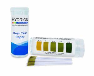Hydrion Short Range Beer pH Test Paper Refills, 4.7-6.3 pH Range