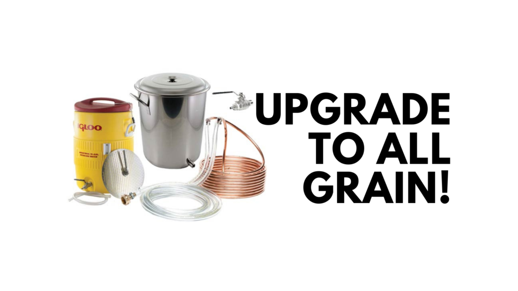 extract to all grain homebrewer upgrade