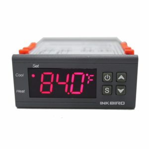 Inkbird ITC-1000F 2 Stage Temperature Calibration Controller Cooling and Heating Modes Celsius and Fahrenheit