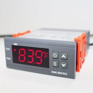 Inkbird All-Purpose Digital Temperature Controller Fahrenheit and Centigrade Thermostat with Sensor 2 Relays ITC-1000