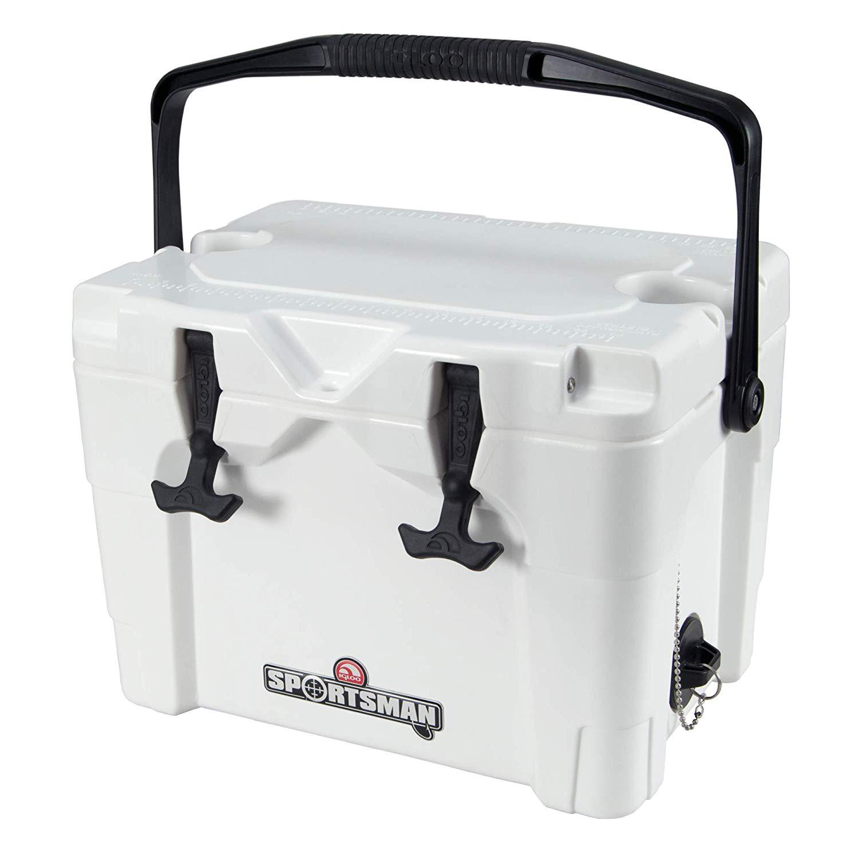 Igloo Sportsman 20Qt Rotomold Cooler, White, One Size