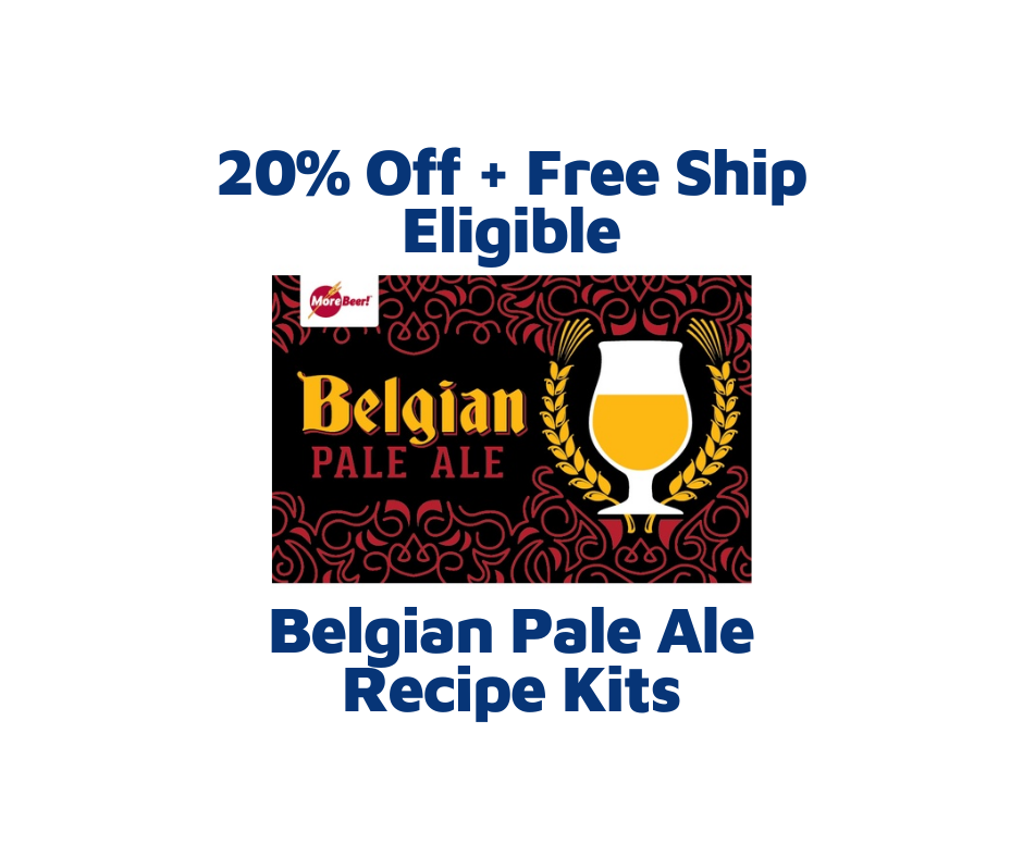 morebeer belgian pale ale homebrew recipe