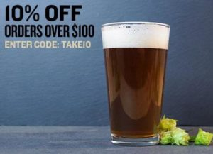10% Off Orders Over $100