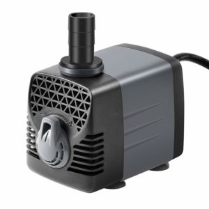 Ankway Upgraded 660GPH(2475L/H, 40W) Submersible Water Pump Humanized Rotation Switch with 3 Nozzles for Pond, Aquarium, Fish Tank Fountain Water Pump Hydroponics, with 5.9ft (1.8M) Power Cord