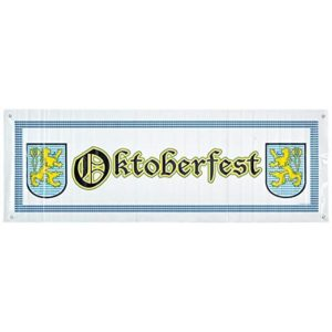 Oktoberfest Sign Banner Party Accessory
