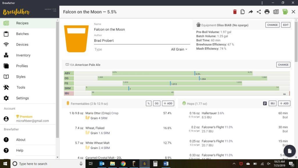 Hands on Review: Brewfather App – Recipe Formulation, Calculators ...