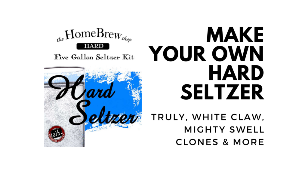 make your own hard seltzer