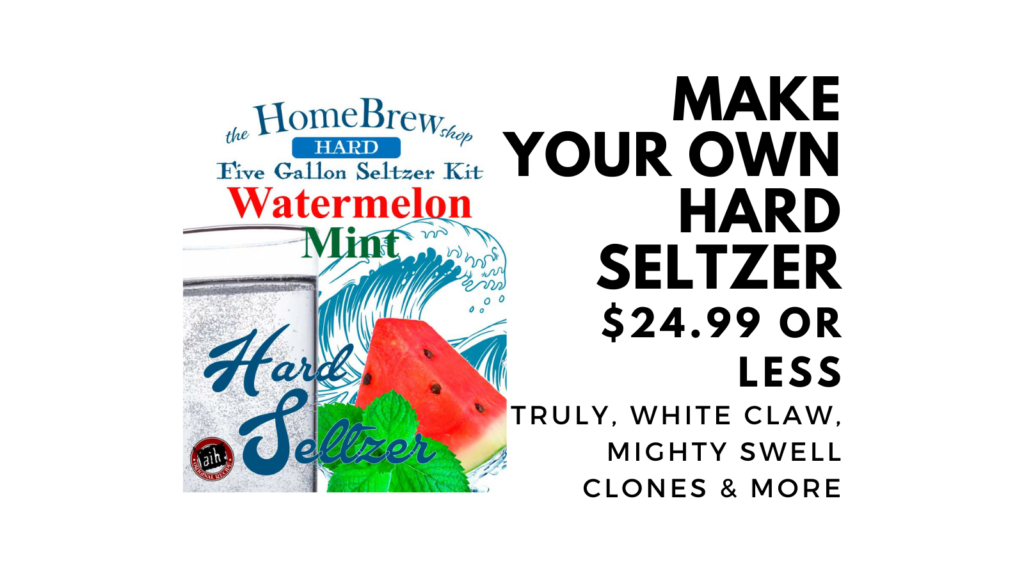 homemade hard seltzer