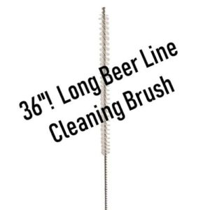 Beer Line Cleaning Brush - 1/4 in. x 36 in.