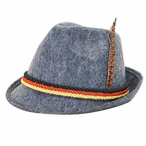 SLONLI Oktoberfest Hat German Alpine Bavarian Hat Cap Oktoberfest Decorations Octoberfest Party Supplies for Kids and Adults