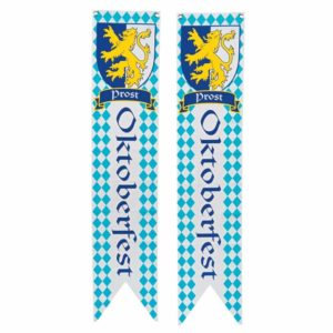 Oktoberfest Wall Pennants Banners (set of 2)