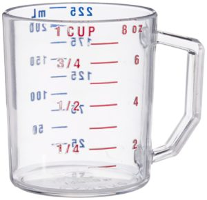Measure Cup 1 Cup Clear by Cambro